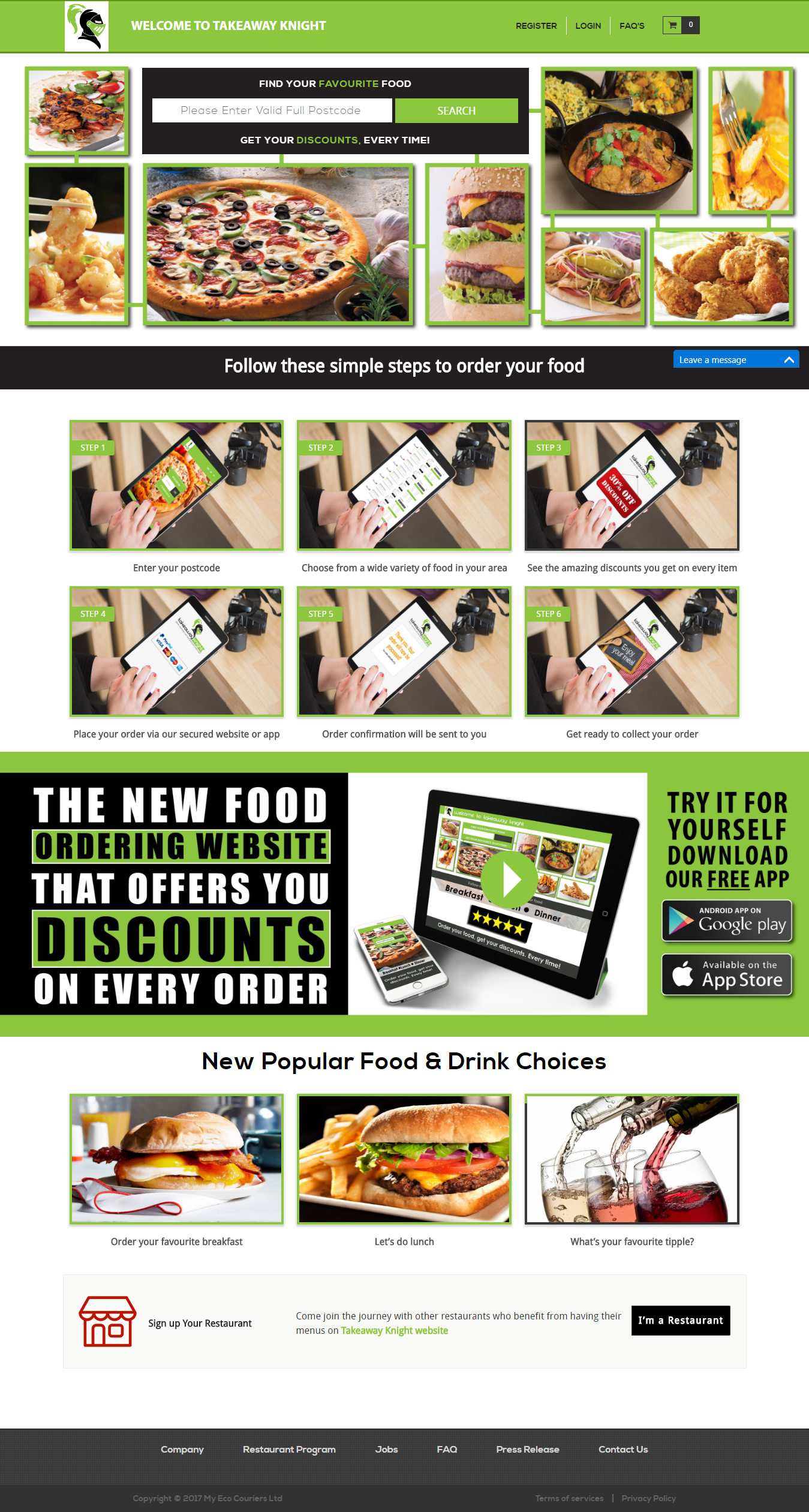 Justeat Clone Script | Justeat Like App Development